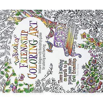Le livre de l'amitié Coloriant l'art