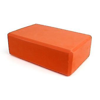 Yoga pilates blocks yoga block foam brick for stretching aid  gym  pilates  yoga etc. Orange