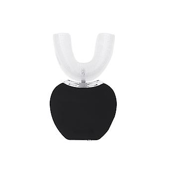 Brosse à dents automatique électrique 360 Sonic Brosse à dents blanchissante 3 modes Ipx7 Nettoyant à dents imperméable à l'eau-noir