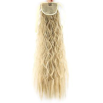 Hair Extensions Wrap Around Curly Wave Wigs Clip In Ponytail