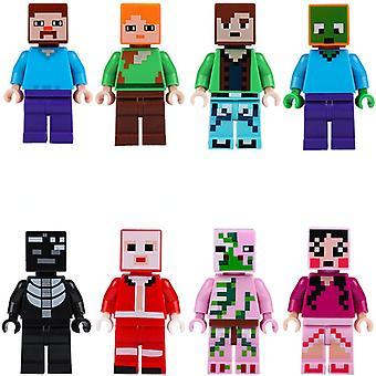 Minecraft Minifigure Stephen Kripper Is Afraid Of Assembling Building Blocks For Christmas