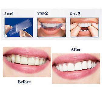 Crest 3d White Whitestrips Gentle Routine Teeth Whitening Kit 1 Box 14 Pouches