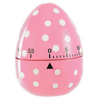 Eddingtons roze gevlekte ei vorm 60-minuten Timer