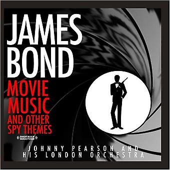 Johnny Pearson & His London Orchestra - More James Bond Movie Music & Other Spy Themes [CD] USA import