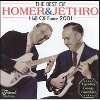 Homer & Jethro - Country Music Hall of Fame 2001 [CD] USA import