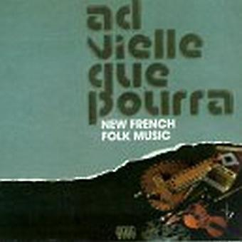 AD Vielle Que Pourra - New French Folk Music [CD] USA import