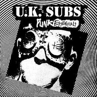 Importer des Punk Essentials [CD] USA UK Subs-