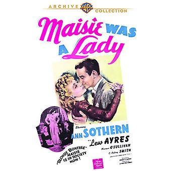 Maisie Was a Lady [DVD] USA import