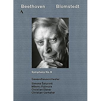 Beethoven: Symphony 9 [DVD] USA importere