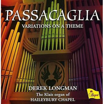Bach/Mendelssohn/Peeters - importazione USA Passacaglia [CD]