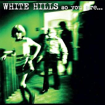White Hills - So You Are So You'Ll Be [CD] USA import