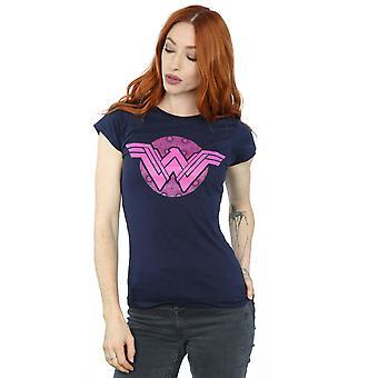 DC Comics kvinners Wonder Woman rosa mosaikk t-skjorte