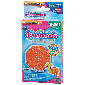Aquabeads Jewel Bead Pack - Portocaliu
