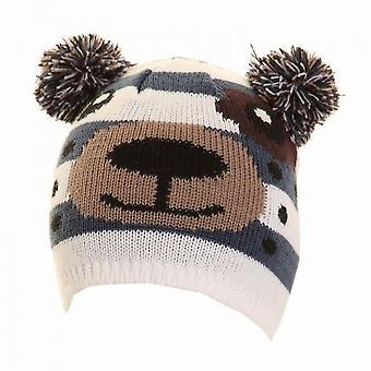 Kinder/Kids Neuheit tierische Winter Ski Hut mit POM Ohren