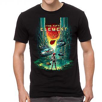 Le cinquième élément 5e élément noir T-shirt homme