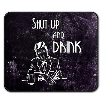 Drink Beer Party  Non-Slip Mouse Mat Pad 24cm x 20cm | Wellcoda