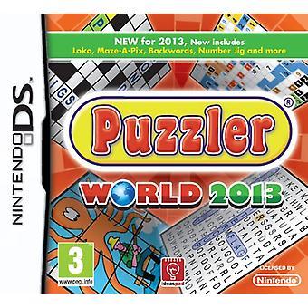 Puzzler World 2013 (Nintendo DS) - New