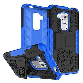 Pedazo de caso 2 híbrido azul al aire libre SWL para Huawei Nova plus bolsa funda protección