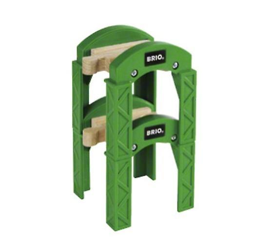 BRIO Stacking Track Supports 33253 Wooden Railway Bridge Accessory