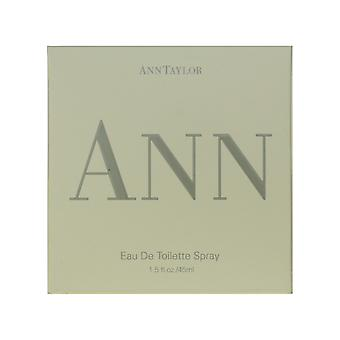 Ann Taylor Ann Eau De Toilette Spray 1,5 oz/45 ml ny i Box