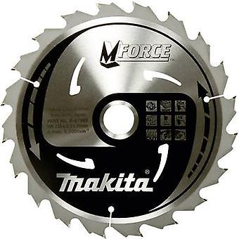 Makita M-kraft B-32007 cirkelsåg Blade 165 x 20 x 1,2 mm antal kuggar: 24 1 PC (s)