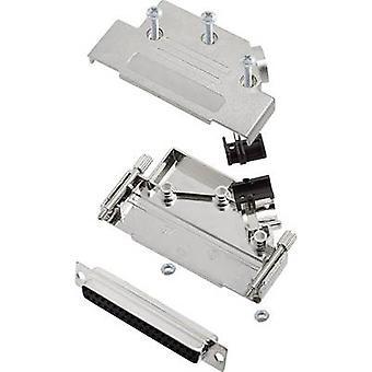 encitech D45PK-M-37-DBS-K 6355-0009-14 D-SUB-astia sarja 45 ° nastojen luku määrä: 37 juotos kauha 1 sarja