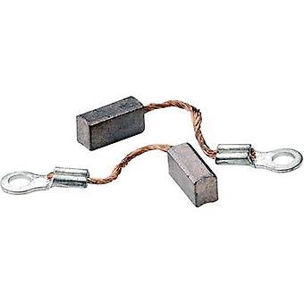 Escovas de carvão compatível com: motores elétricos de pressão B Spec AbsimaCarbon escovas