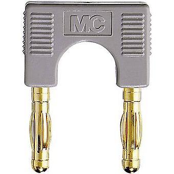 Stäubli EK-400 kontakt grå stift diameter: 4 mm dot pitch: 19 mm 1 st (s)