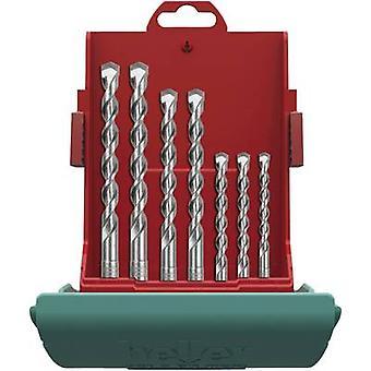 Carbide metal Hammer drill bit set 7-piece Heller Bionic 16315 6 SDS-Plus 1 Set