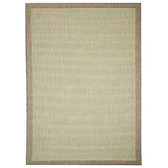 Buiten tapijt voor terras / balkon groen Essentials chrome groen 135 / 190 cm tapijt binnen / buiten - voor binnens- en buitenshuis