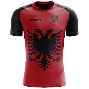 2018-2019 Albania Flag Concept Football Shirt (Kids)