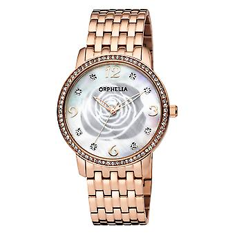 ORPHELIA Women Analogue Watch Rose Gold Stainless steel OR12705