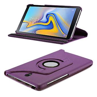 For Samsung Galaxy tab A-10.5 T590 T595 of purple 360 degree case cover pouch case new