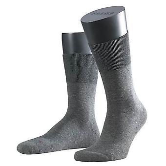 Falke ejecutar Ergo Midcalf calcetines - gris oscuro