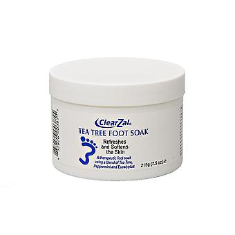 ClearZal Silk Tea Tree Foot Soak (215g)