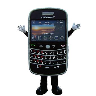 gigante nero, BlackBerry, cellulare mascotte SPOTSOUND