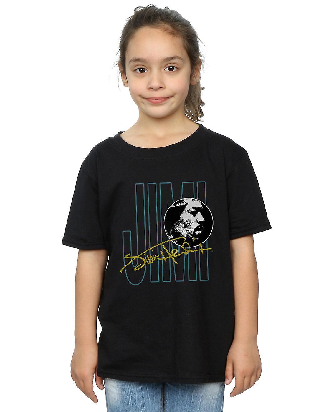 Jimi Hendrix Girls Jimi Signature T-Shirt