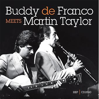 Defranco/Taylor - Buddy Defranco Meets Martin [CD] USA import