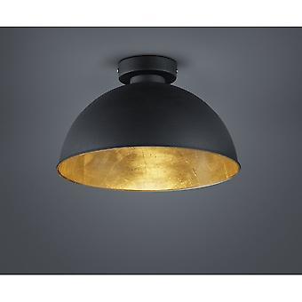 Трио освещения Джимми современный черный металлический потолок лампа