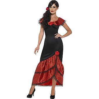 Фламенко костюм сеньорита, большой