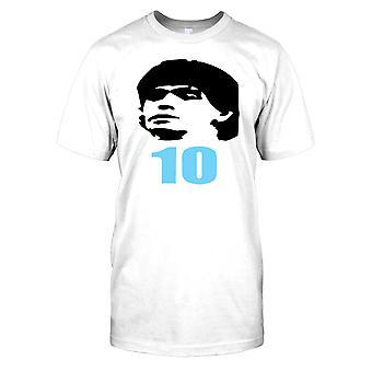 Diego Maradonna - Argentina nummer 10 - legenden Mens T Shirt