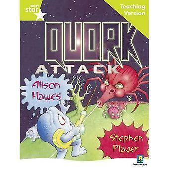 Quork Attack: Lime nivå (Rigby stjärna guidad)
