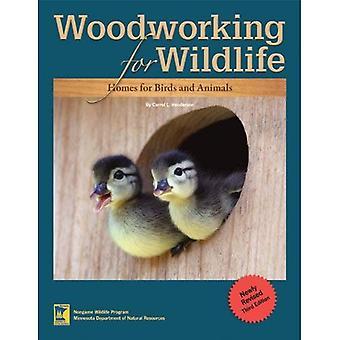 Houtbewerking voor Wildlife: huizen voor vogels en dieren