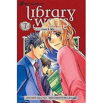 Biblioteket krige: Kærlighed & krig, bind 7