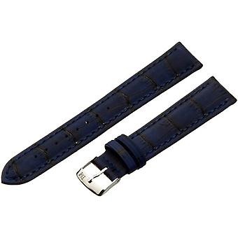 Morellato leather bracelet 18 mm blue Larch A01U3936A70062CR18 man