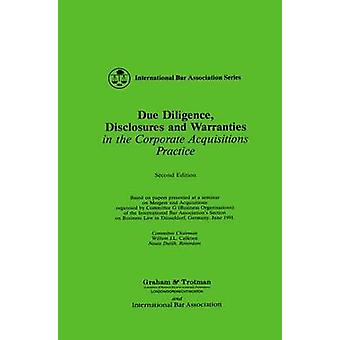 Due Diligence Disclosures and Warranties by Baker & D. & Ed