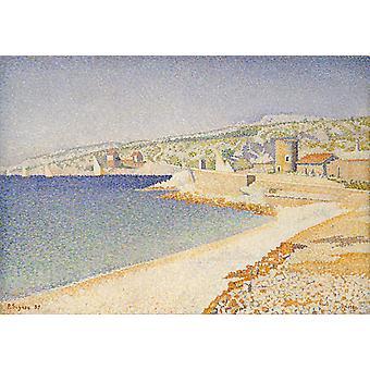 Rempart, Paul Signac, 46,4 x 65,1 cm