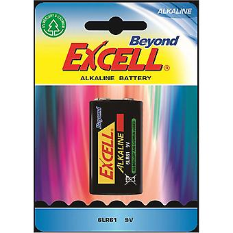 Batteri 9V, 6LR61 Excell Beyond Alkaline Batteries