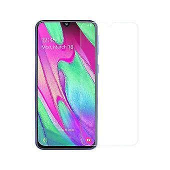 Samsung Galaxy A40 tank bescherming weergeven glazen tank dia 9 H glazen - 2 stuks
