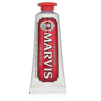 Marvis Travel Size Cinnamon Mint Toothpaste